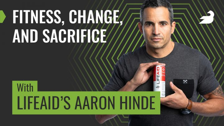 BarBend Podcast: Fitness, Change and Sacrifice with Aaron Hinde