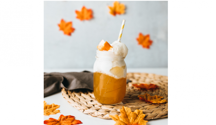 Are You in the Mood for a Fall Float That's Actually Good for You and Delicious?