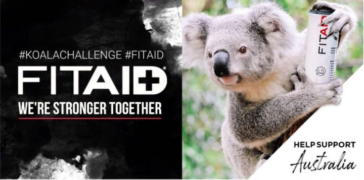 FITAID Koala Challenge Helping to Raise Over $30,000 for Australia Wildfire Relief