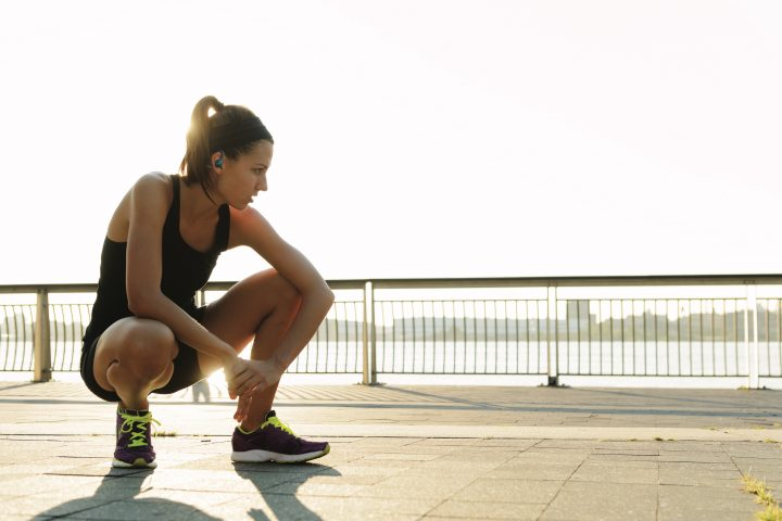 The Best Workout Playlist & Headphones for Working Out