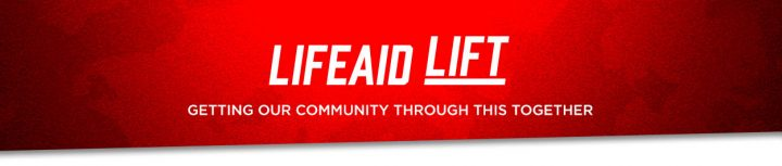 Join the LIFEAID LIFT, Help Financially Boost Our Community