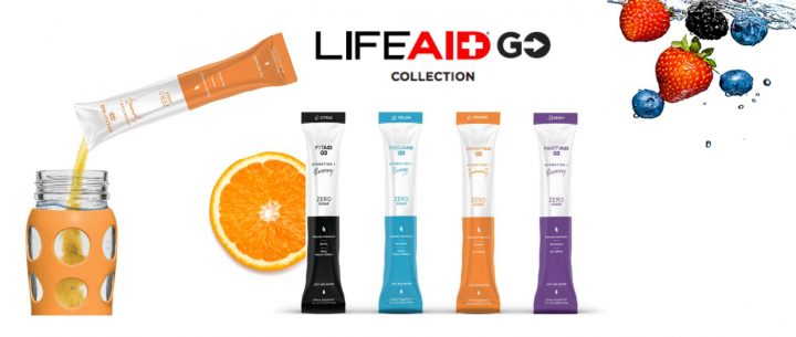 It's GO! Time: LIFEAID Introduces New Collection for Hydration + Vitamins on the GO!
