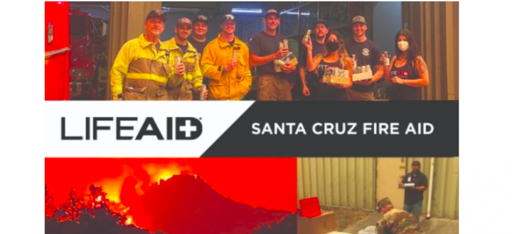 Santa Cruz Fire Aid Helps Raise Awareness, Funds and Supplies for Locals Devastated by Wildfires